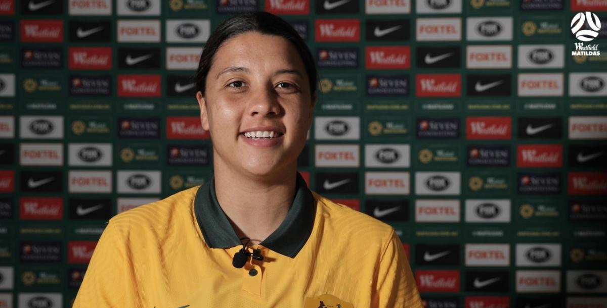 """Sam Kerr: """"It's great to be back!"""""""