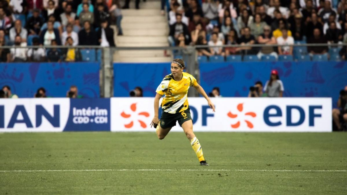 Roestbakken describes 'unbelievable feeling' of Matildas debut