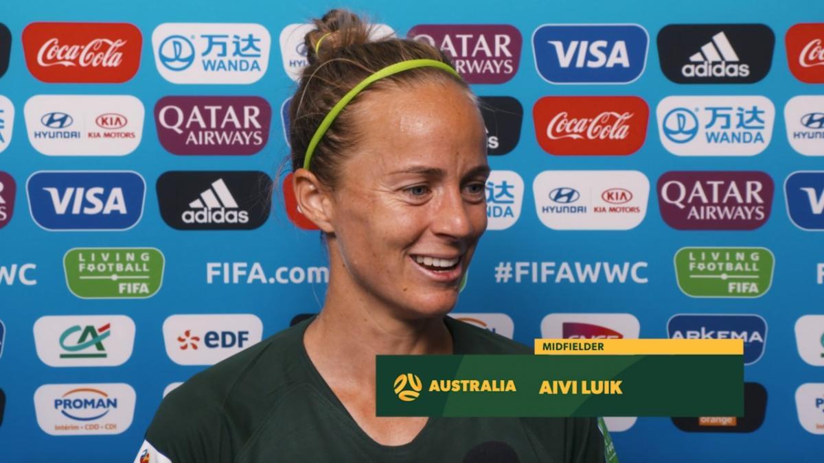 Aivi Luik's emotional World Cup debut