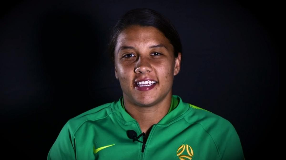 Sam Kerr reflects on record performance against Jamaica