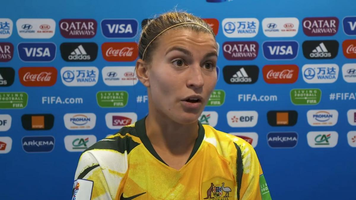Post Match Reaction With Steph Catley