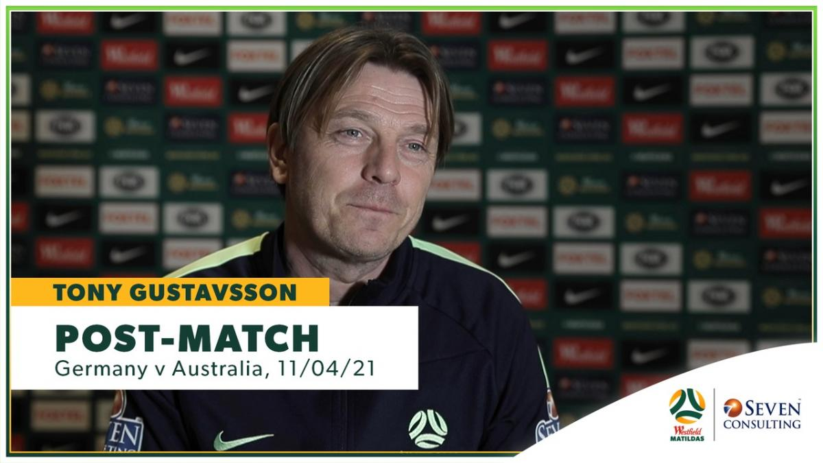 GERvAUS: Tony Gustavsson post-match interview presented by Seven Consulting