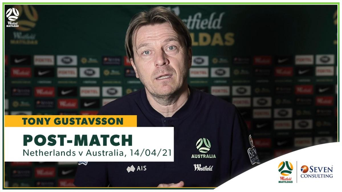 NEDvAUS: Tony Gustavsson post-match interview presented by Seven Consulting