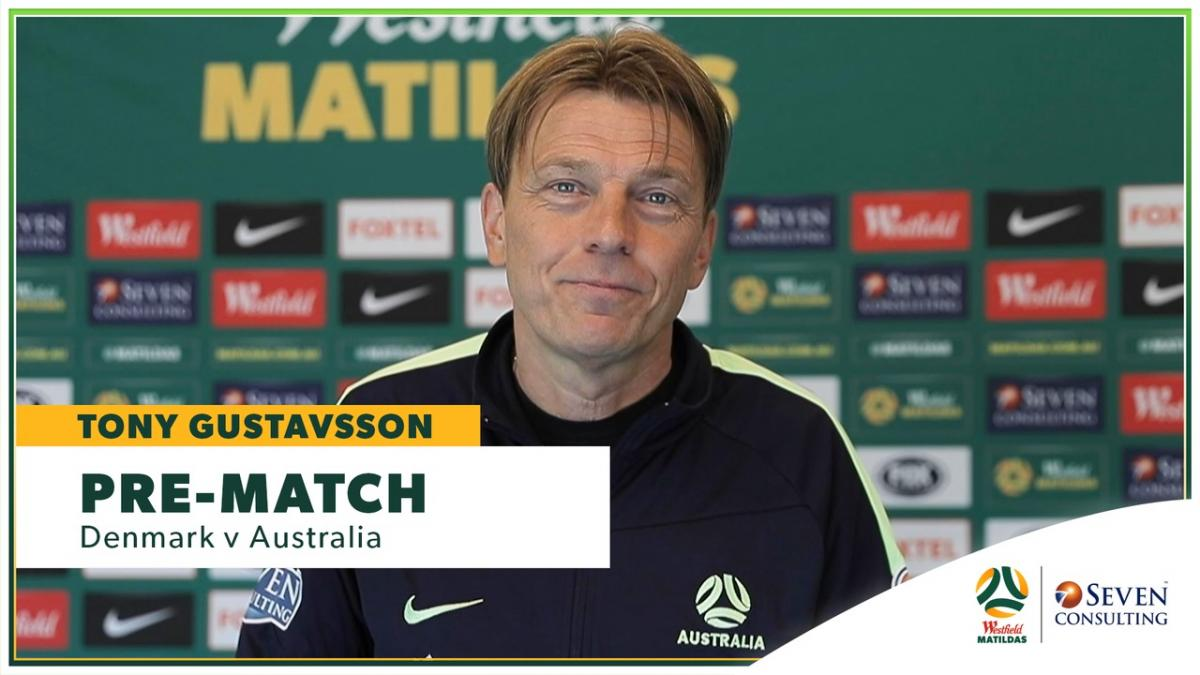 DENvAUS: Westfield Matildas pre-match Press Conference presented by Seven Consulting