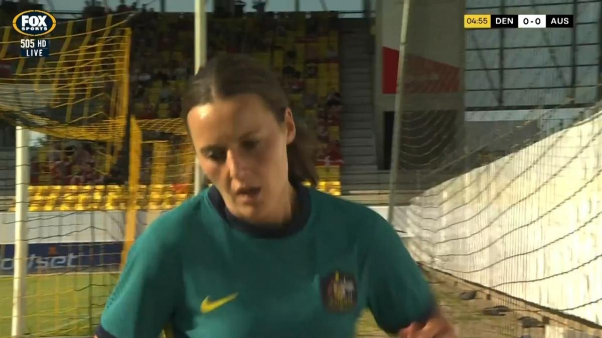 SAVE: Christensen - Danish keeper denies Kerr then Raso