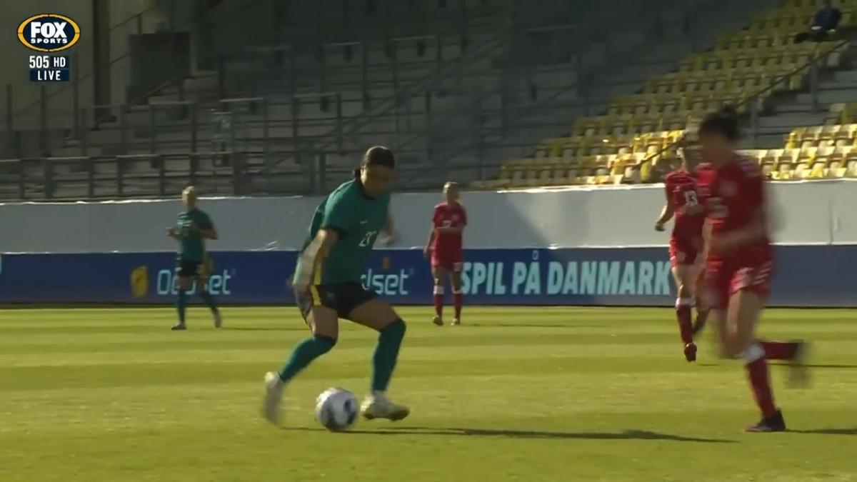 Denmark v Australia | Match Highlights