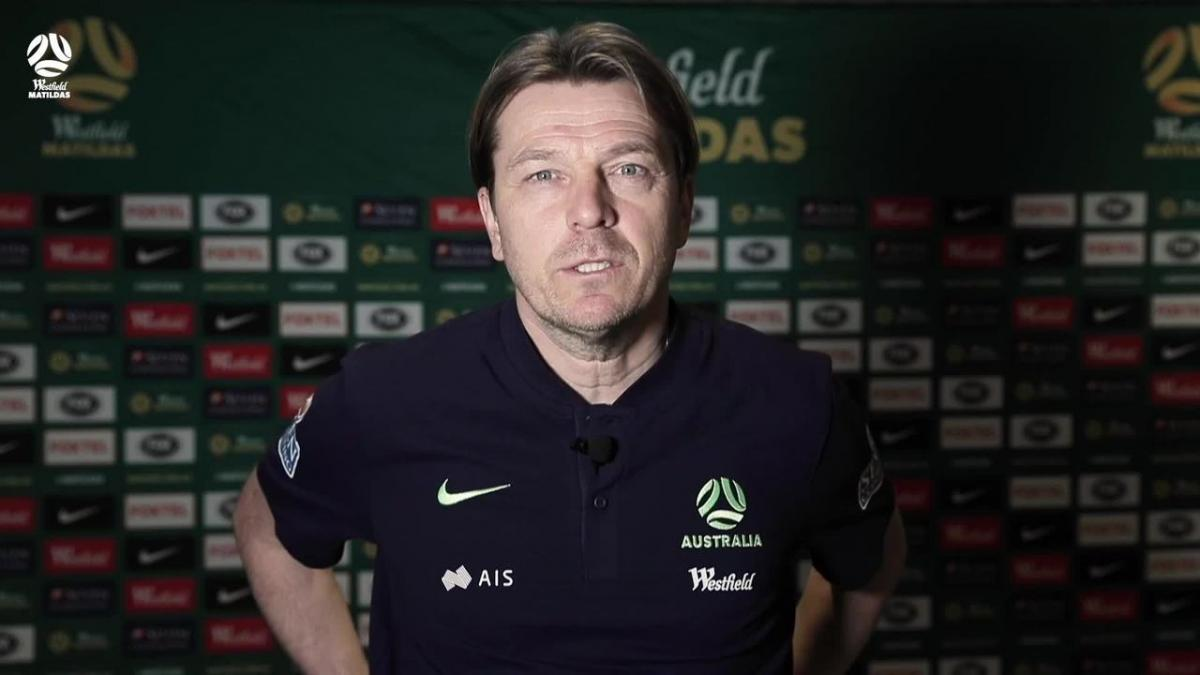 Tony Gustavsson Media Conference  -  April Internationals presented by Seven Consulting