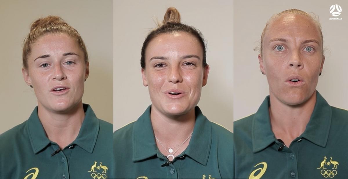 Matildas share the Tokyo 2020 Australian Olympians' Oath