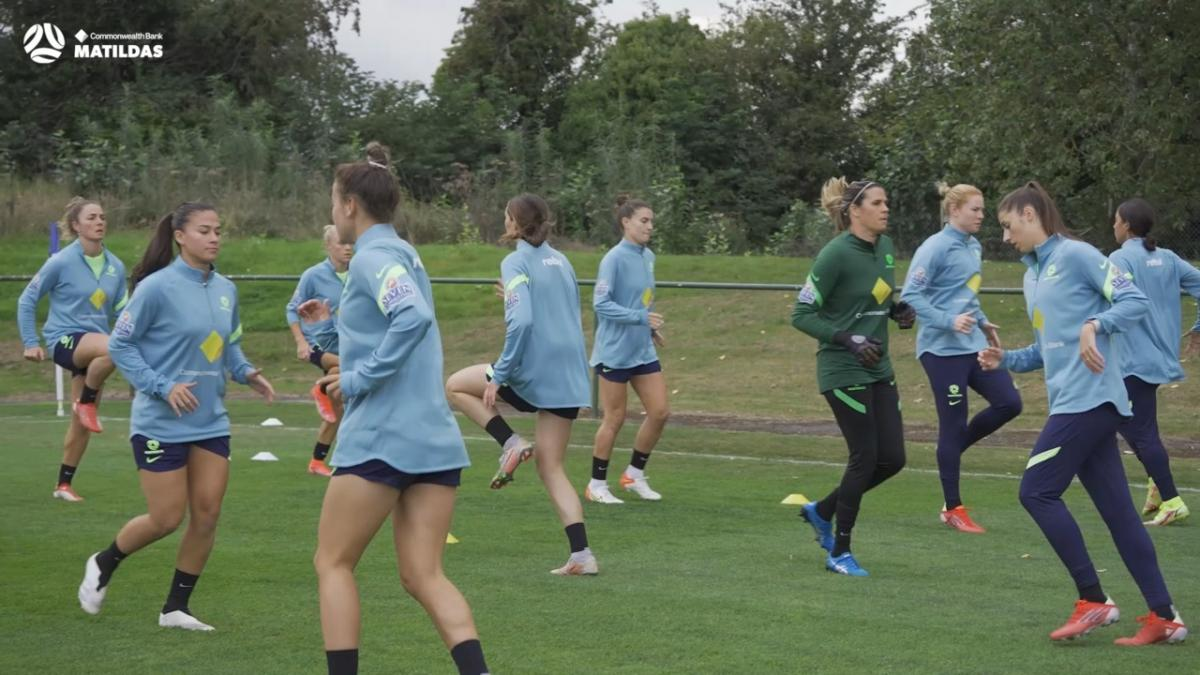Behind the Matildas, brought to you by Rebel