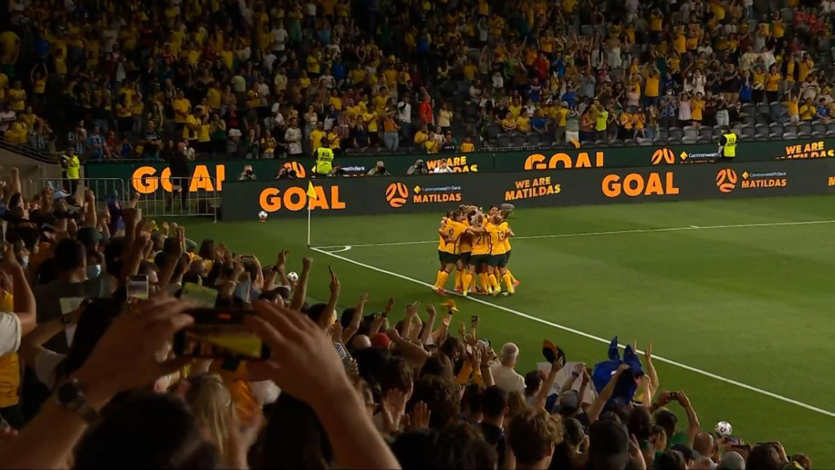 CommBank Matildas v Brazil | Mini Match | International Friendly