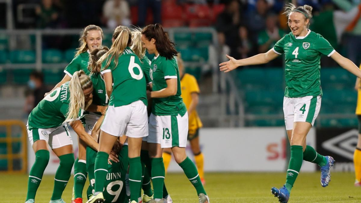 GOAL: Quinn - The Irish lead inside three minutes