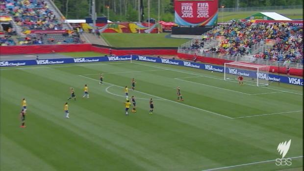 Matildas v Brazil highlights