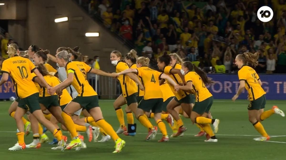 CommBank Matildas v Brazil | Extended Highlights | International Friendly