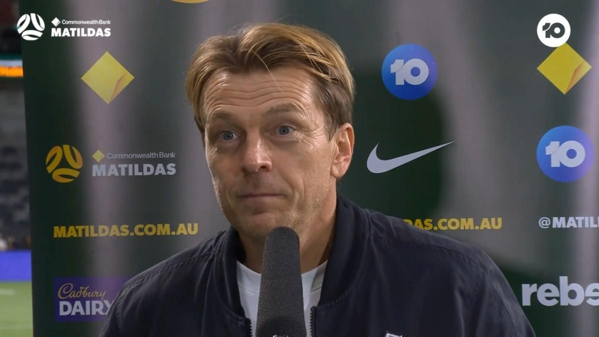 Gustavsson: this was a proper quality football game | Interview | CommBank Matildas v Brazil