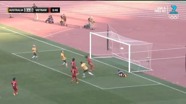 Westfield Matildas v Vietnam highlights