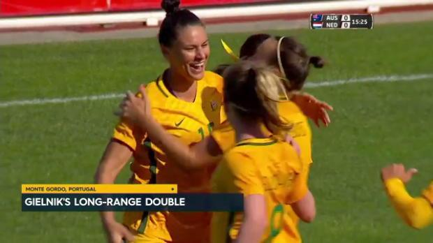 Gielnik guides Westfield Matildas to win