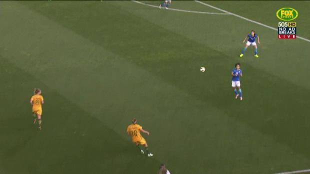 Kerr draws Matildas level
