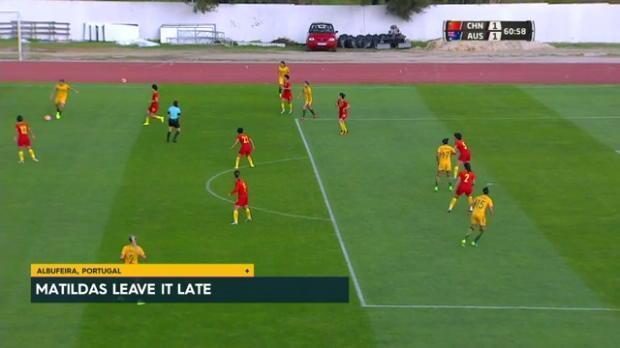 Matildas down China in Algarve Cup thriller