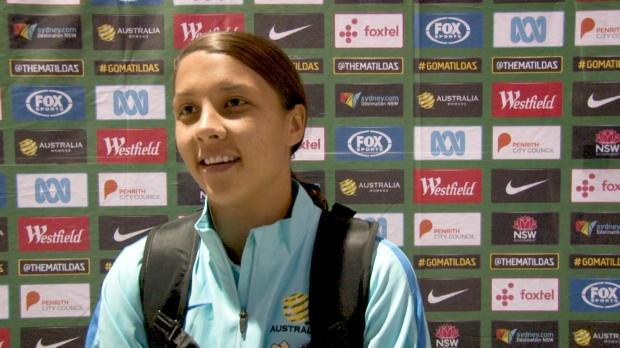 Matildas stars react to Brazil win