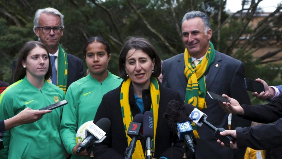 NSW Government Backs Australia's FIFA Women's World Cup 2023 Bid
