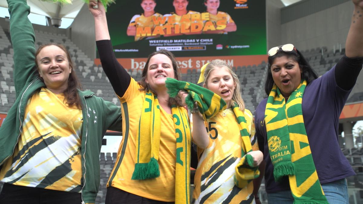 Matildas v Chile announcement: Get the mad Tildas vibe happening in Parramatta!