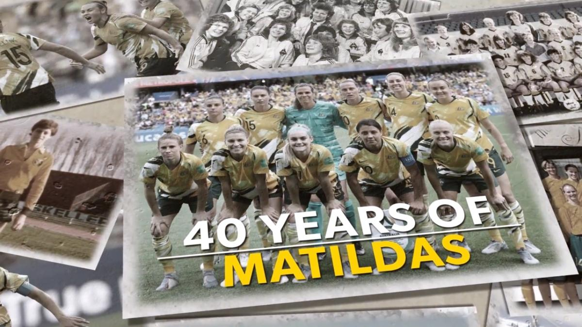 40 Years of Matildas - Then to now