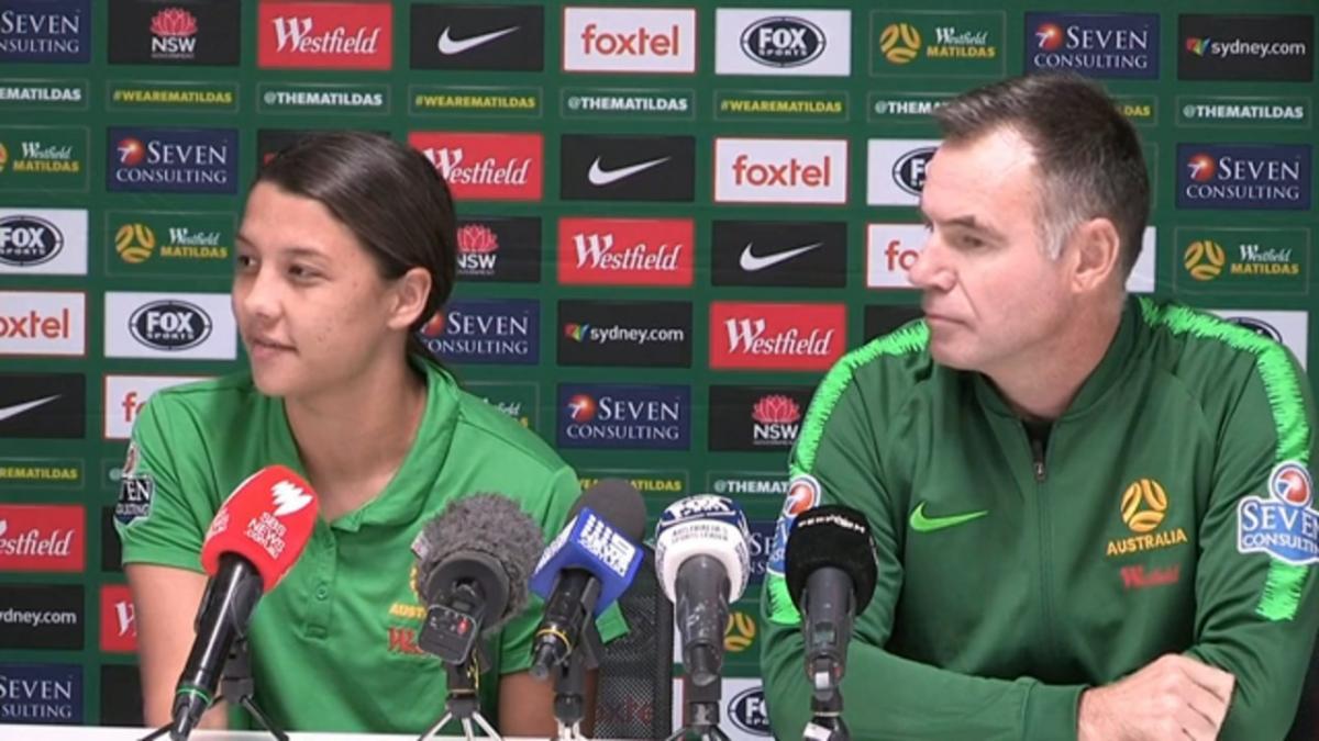 Pre-match press conference | 9 November | Ante Milicic & Sam Kerr