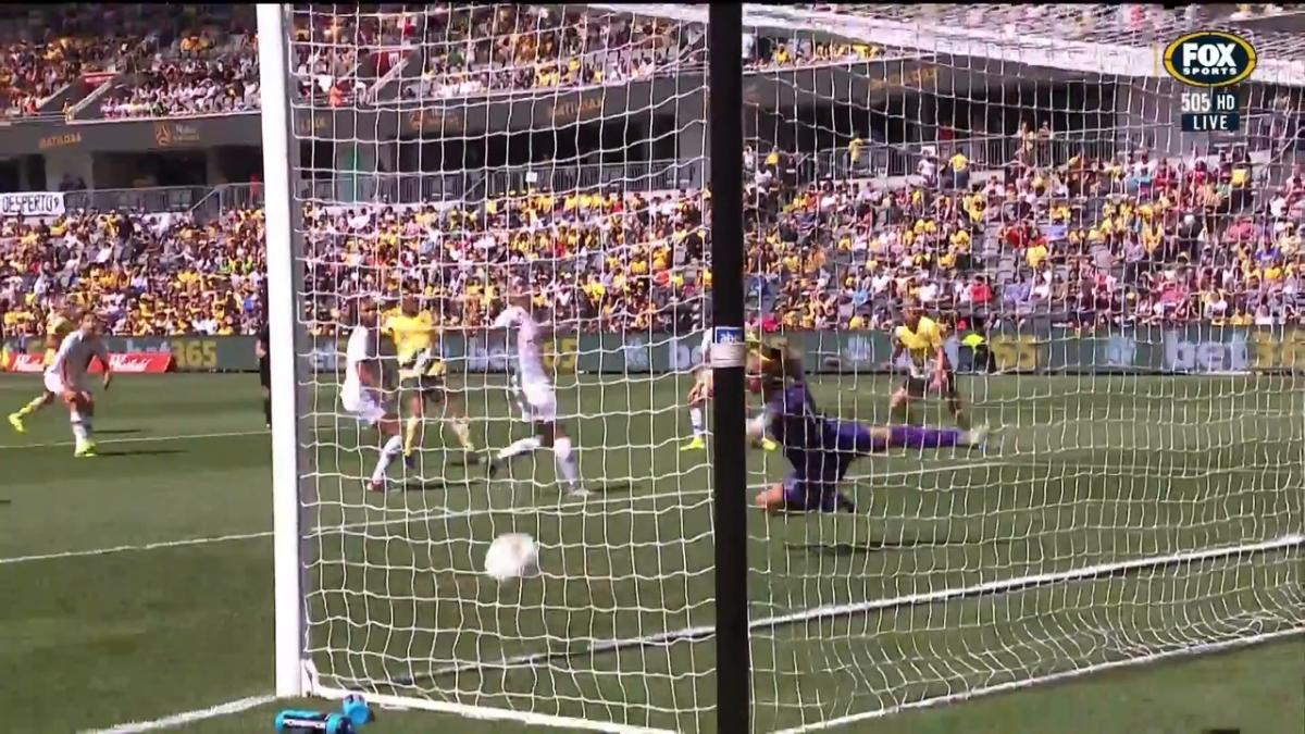 GOAL: Kerr - Matildas waste no time in scoring
