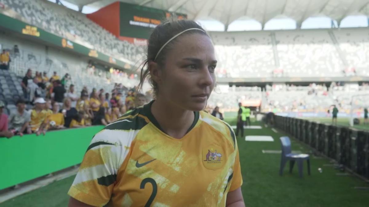 Jenna McCormick: Matildas debut an emotional experience