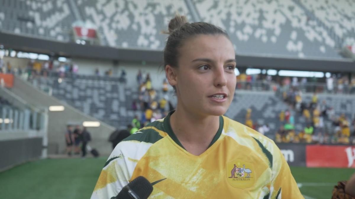 Chloe Logarzo: it's incredible for us to get this support