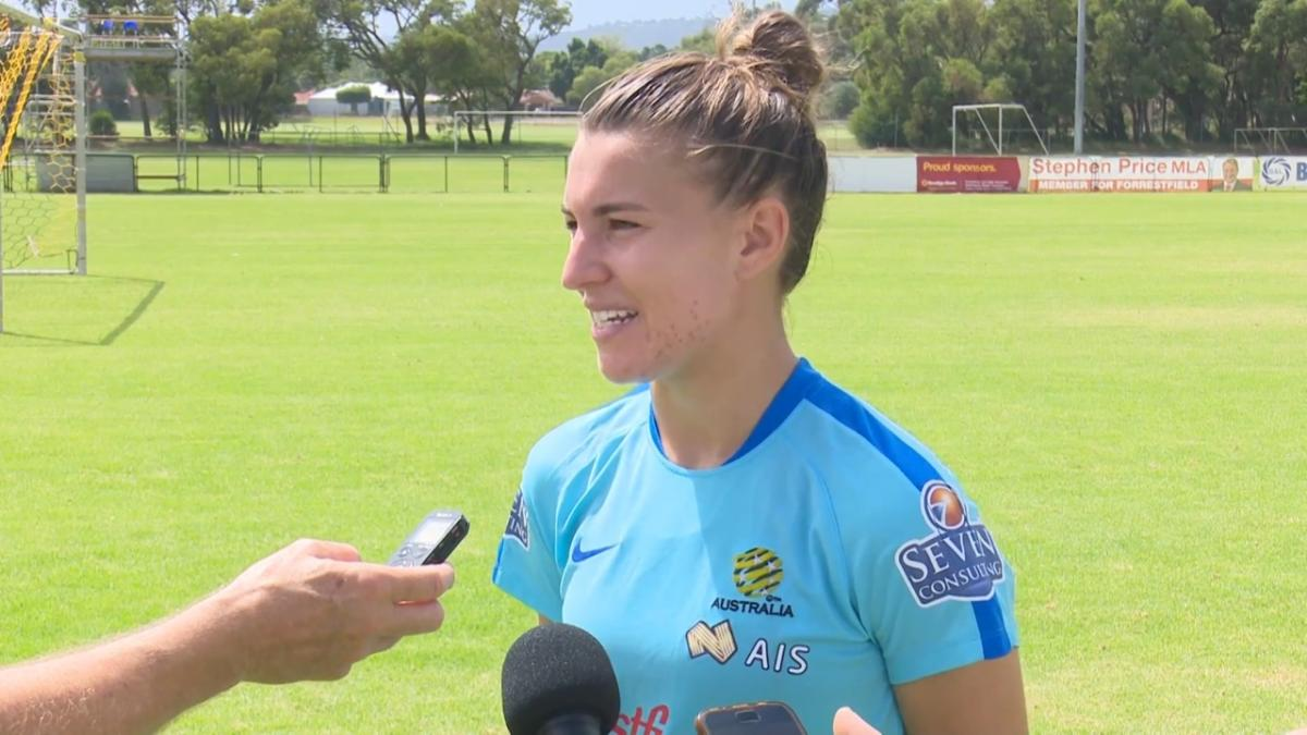 Matildas are like a big family: Catley