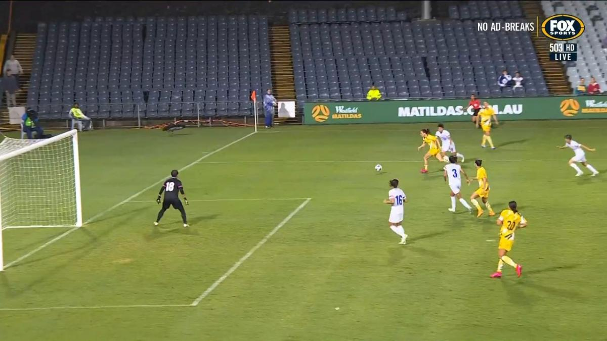 GOAL: Gorry - Volley to finish Australia domination