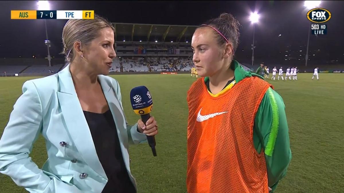 Post Match Interview - Caitlin Foord