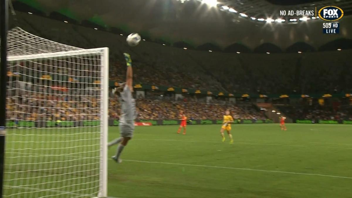 CHANCE: Wang - Matildas off the hook just before half-time