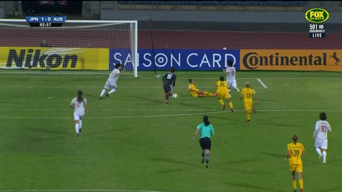 Matildas push for late equaliser