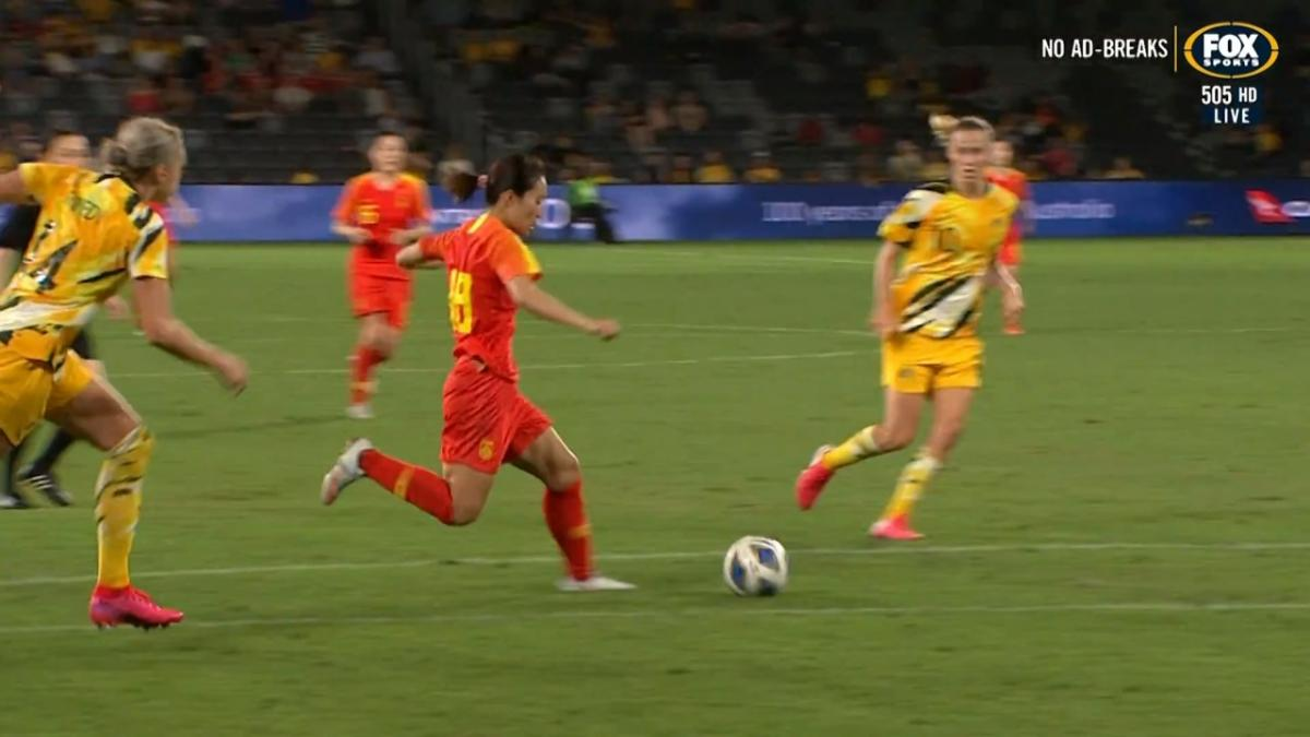 GOAL: Tang - Chinese break deadlock late on