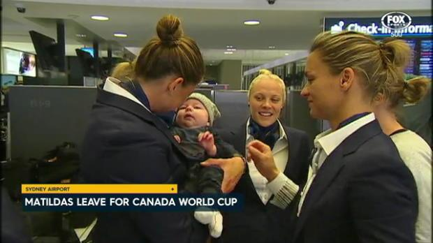 Matildas set off for World Cup tilt