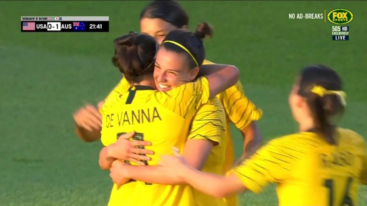 Full-time Highlights: USA V Matildas