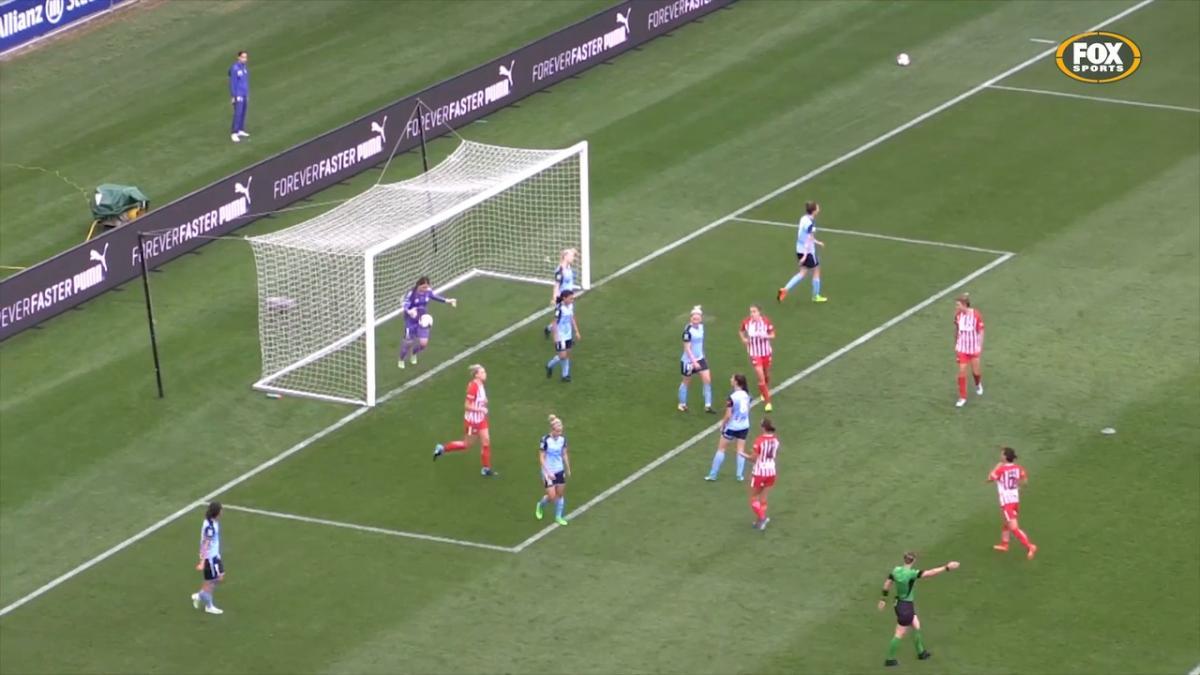 Alanna Kennedy Westfield W-League highlights