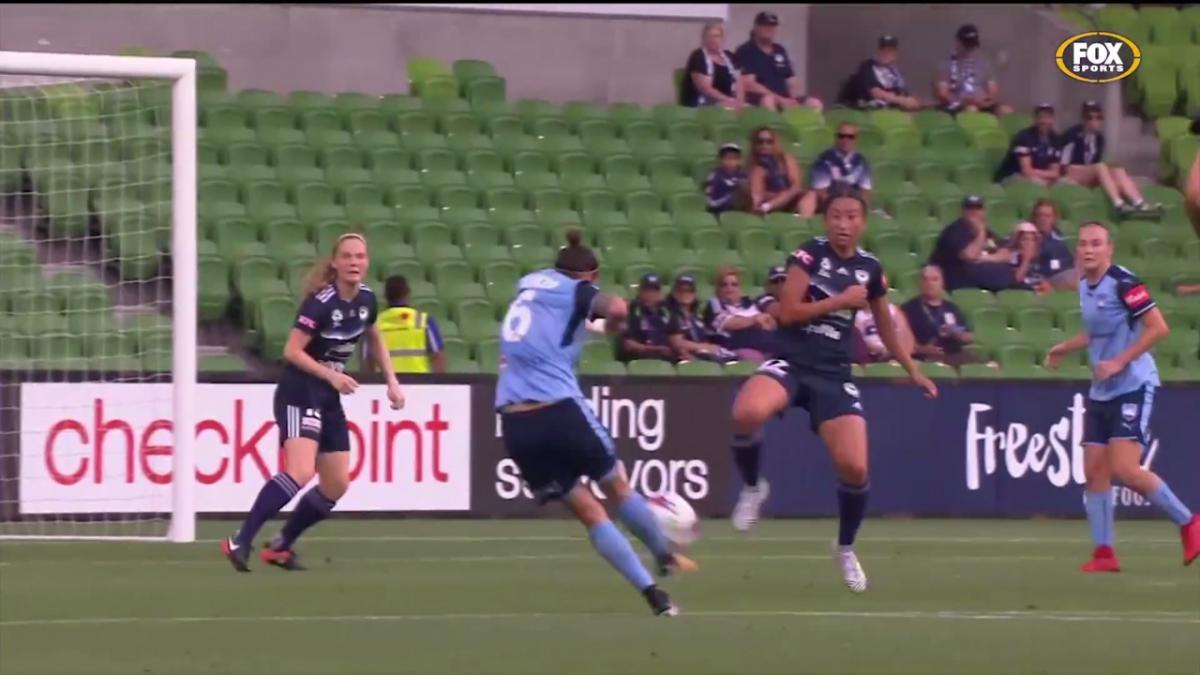 Chloe Logarzo Westfield W-League highlights