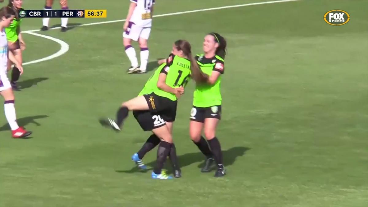 Amy Sayer Westfield W-League highlights