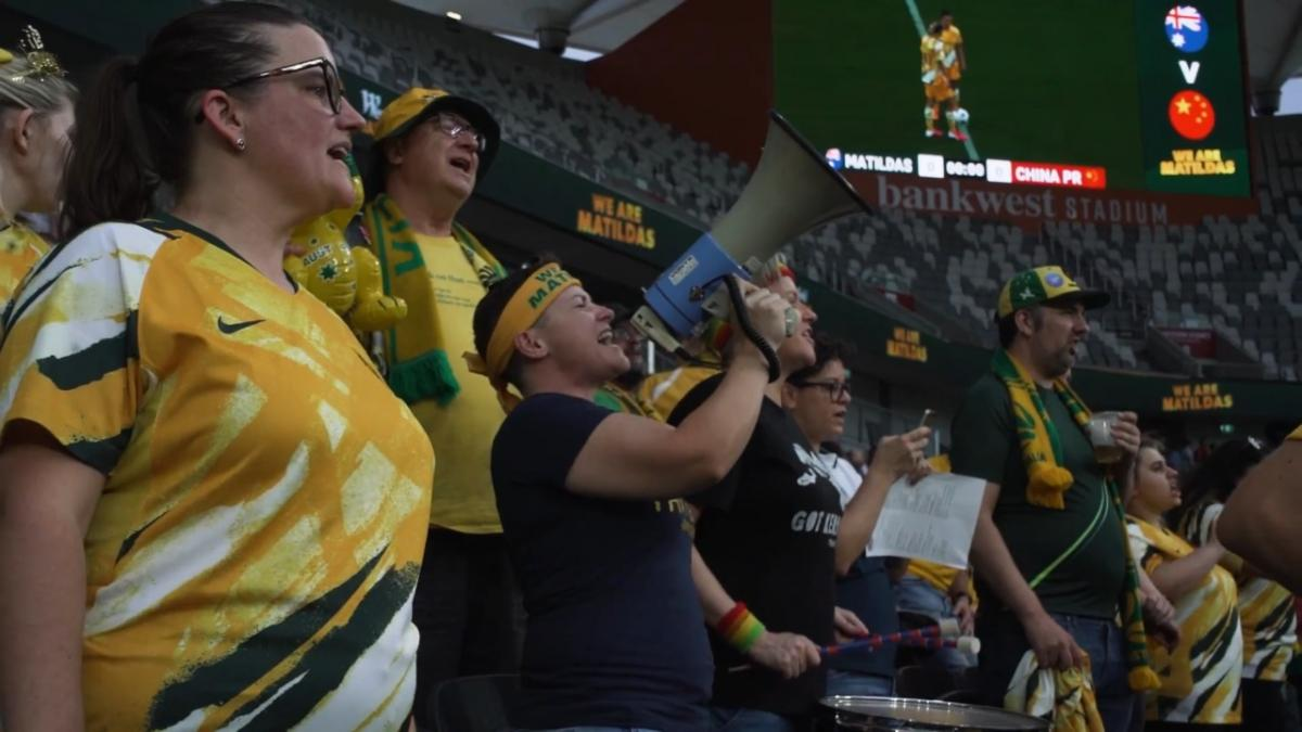 Do not give up on your team: inside the Matildas active support