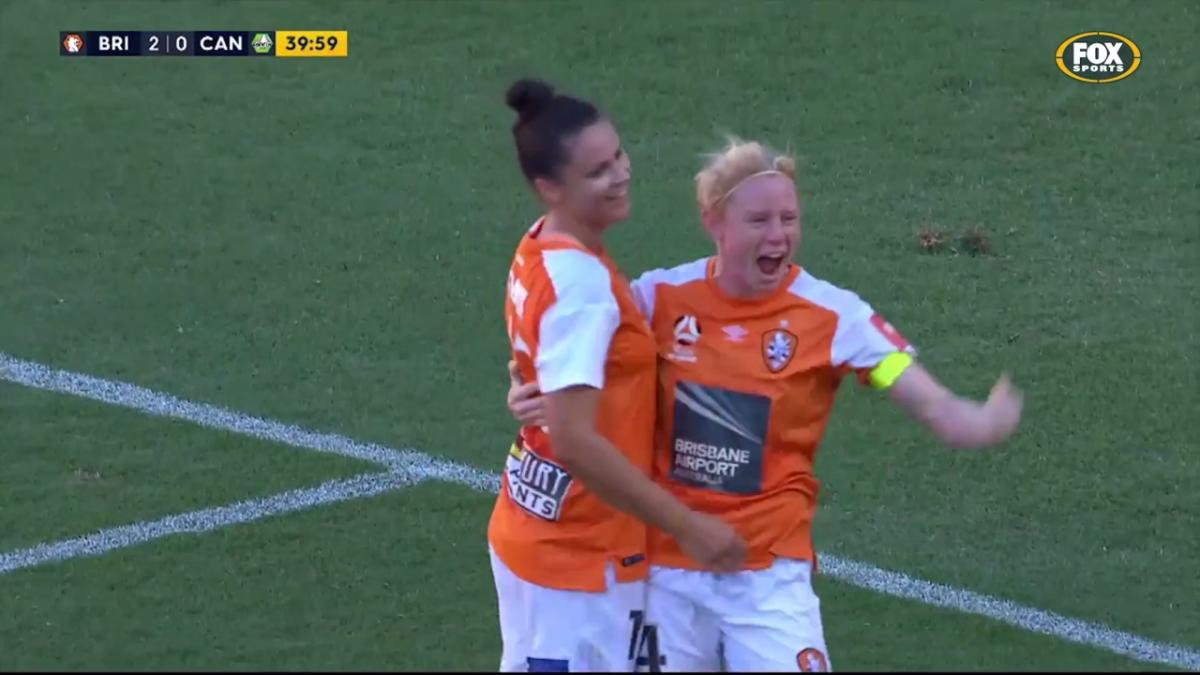 Emily Gielnik Westfield W-League highlights