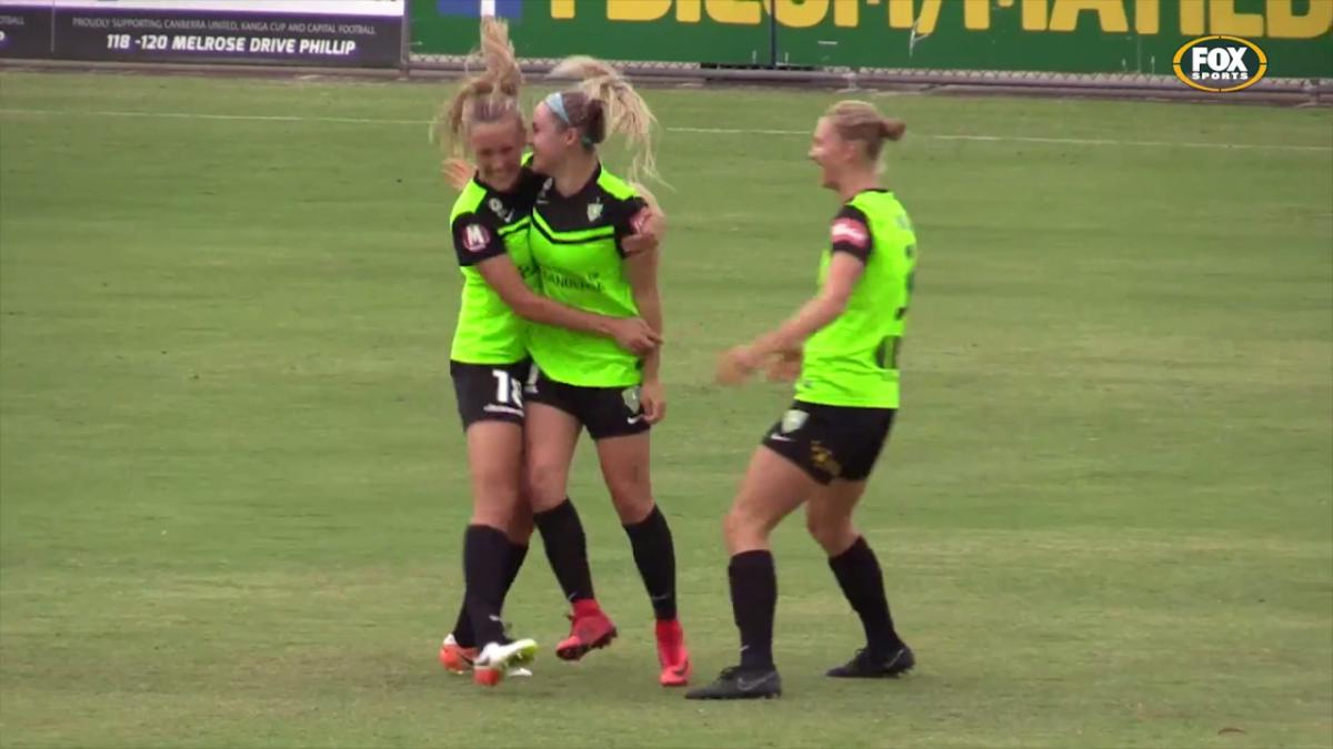 Ellie Carpenter Westfield W-League highlights
