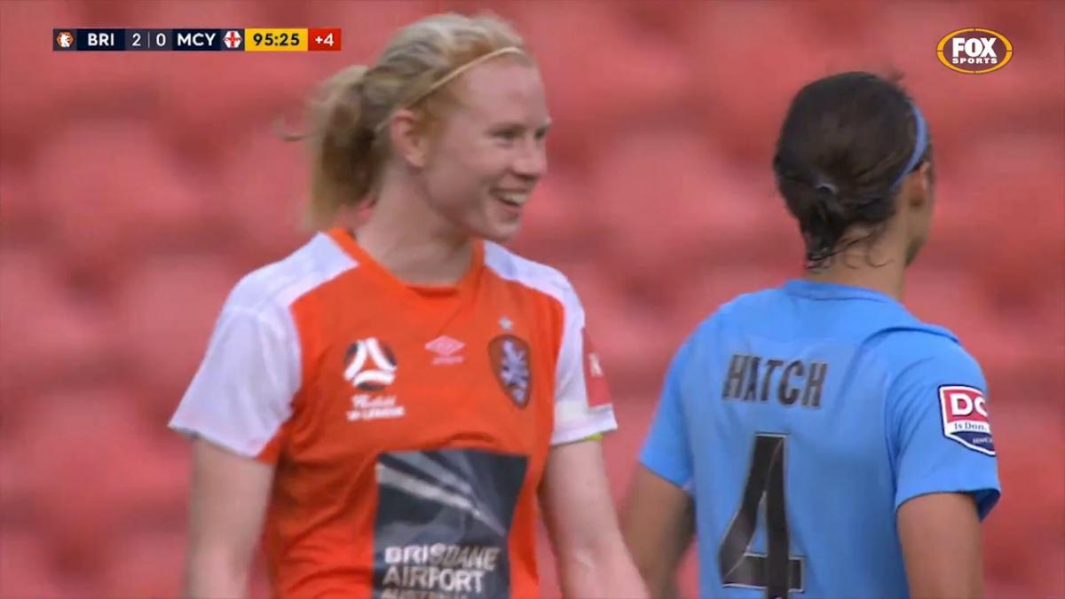Clare Polkinghorne Westfield W-League highlights
