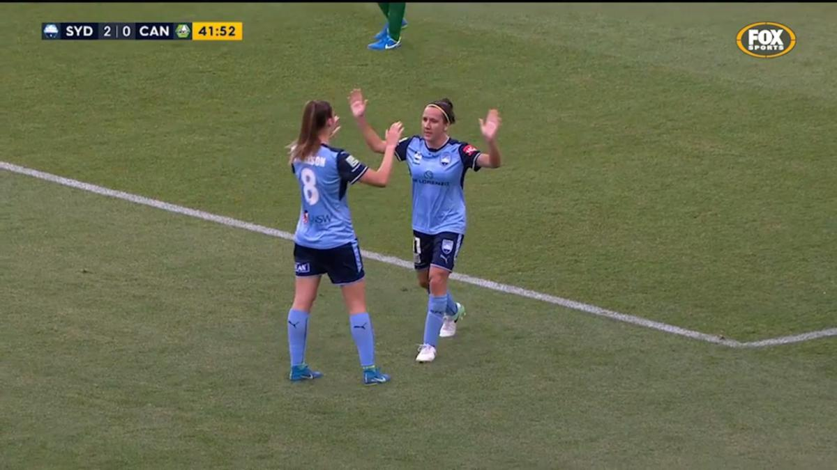 Lisa De Vanna Westfield W-League highlights