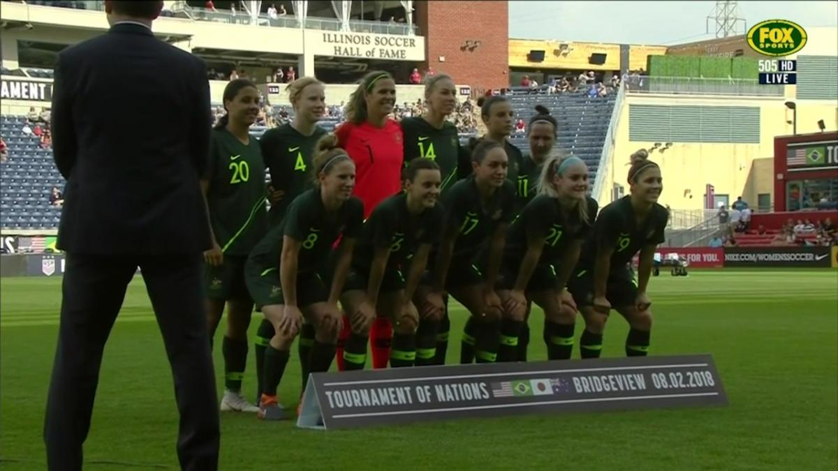 Full-time highlights: Australia v Japan