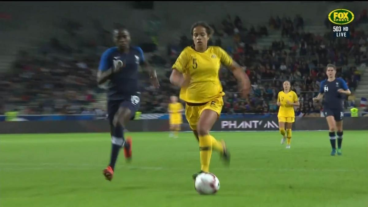 Fowler nearly draws Matildas level
