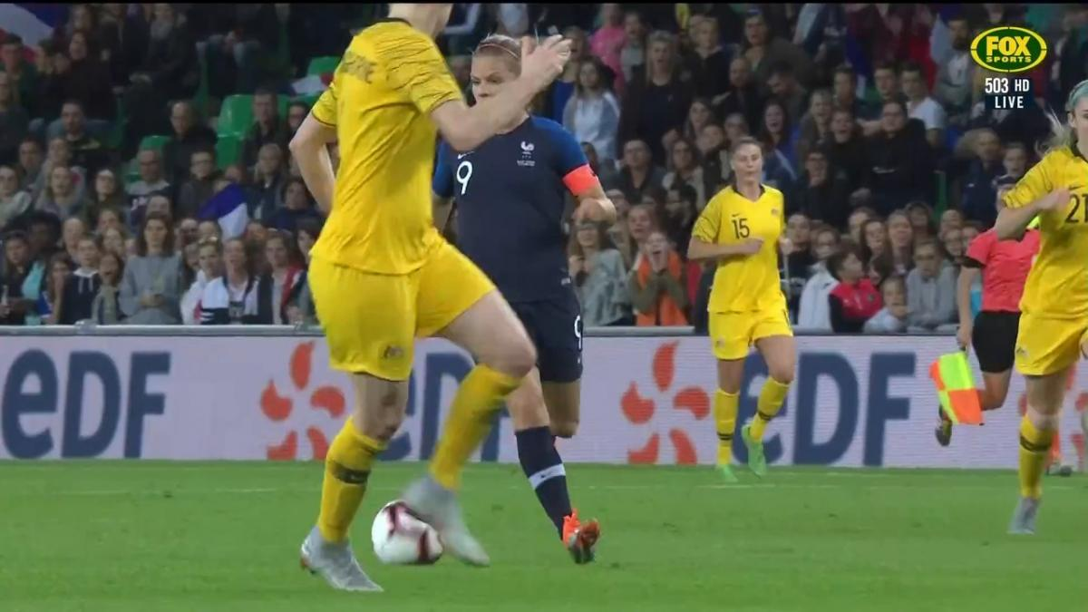 France put it to bed with second goal