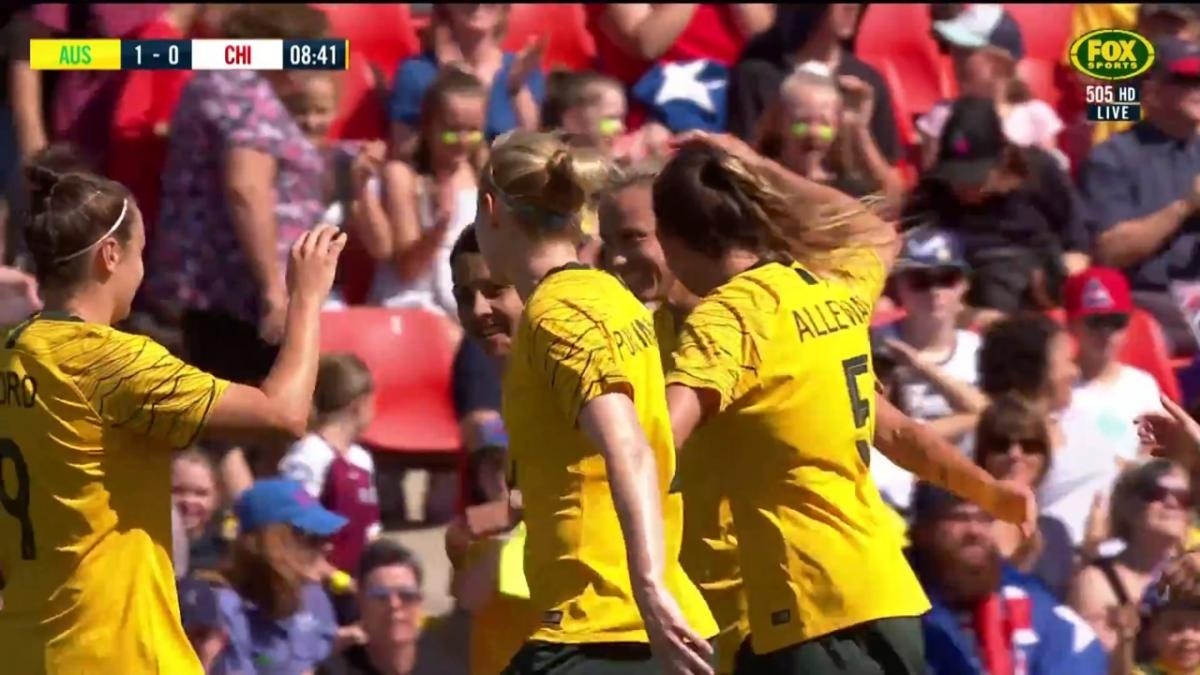 Westfield Matildas take the lead early through van Egmond